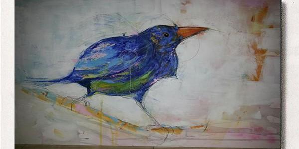 Exposition de peinture Laurent Bergues