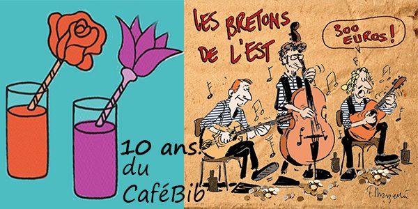 10 ans du Cafébibliothèque !!